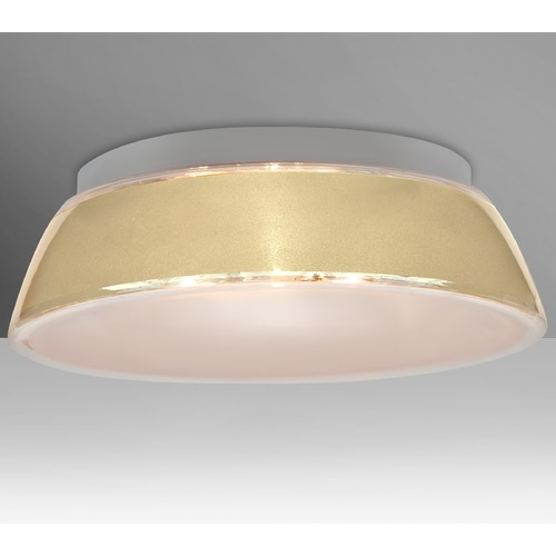Besa Lighting Besa Lighting Pica LED Flushmount Light 9662CRC-LED