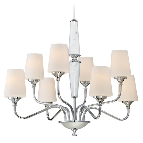 Designers Fountain Lighting Designers Fountain Lusso Chrome Chandelier 88788-CH