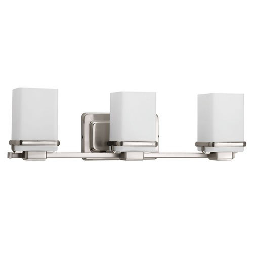 Progress Lighting Progress Lighting Metric Brushed Nickel Bathroom Light P2195-09