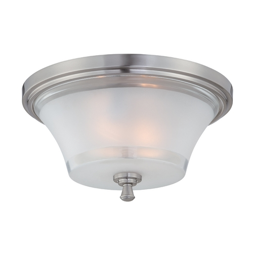 Lite Source Lighting Lite Source Lighting Niccolo Polished Steel Flushmount Light LS-5731