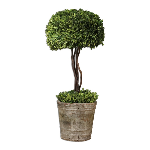 Uttermost Lighting Decorative Tree Topiary with Terracotta Planter 60095