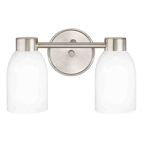 Design Classics Lighting Design Classics Aon Fuse Satin Nickel Bathroom Light 1802-09 GL1028D