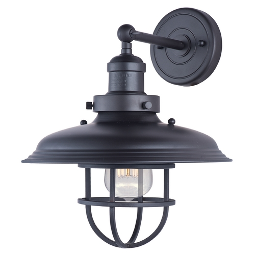 Maxim Lighting Maxim Lighting Mini Hi-Bay Bronze Sconce 25071BZ/BUI