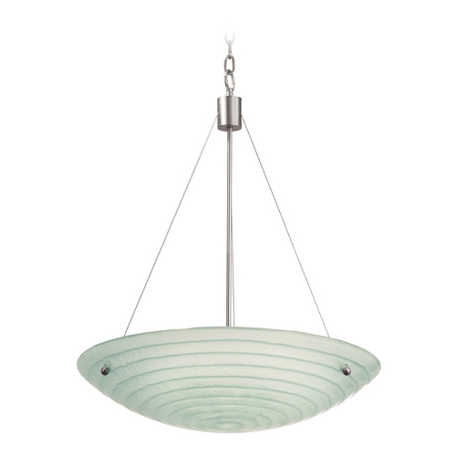 Kalco Lighting Kalco Lighting Aqueous Satin Nickel Pendant Light 5986SN
