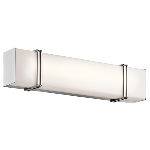 Kichler Lighting Kichler Lighting Impello Chrome LED Bathroom Light 45838CHLED