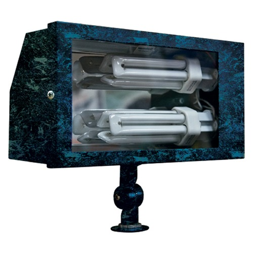 Dabmar Lighting Verde Green Solid Brass Area Flood Light DF5675-VG