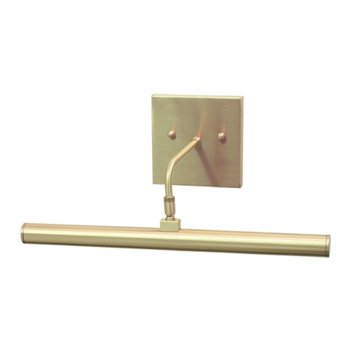 House of Troy Lighting House Of Troy Slim-Line Satin Brass LED Picture Light DSLEDZ14-51