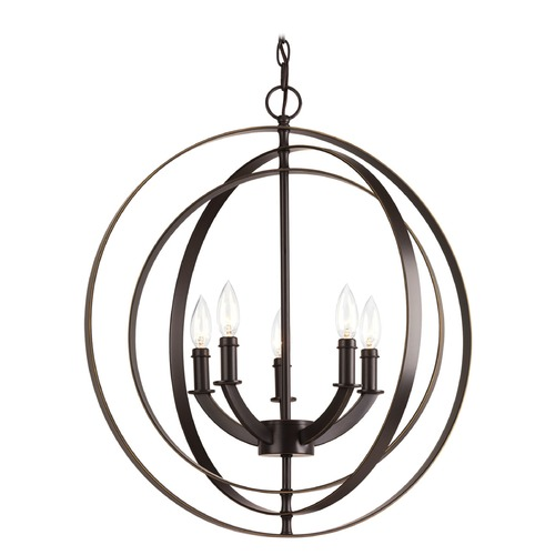 Progress Lighting Progress Lighting Equinox Antique Bronze Chandelier P3841-20