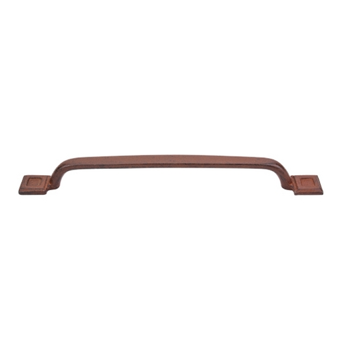 Top Knobs Hardware Cabinet Pull in True Rust Finish M1828