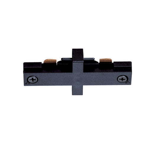 Juno Lighting Group Juno Trac-Master Miniature Straight Connector for Single Circuit Track T23 BL