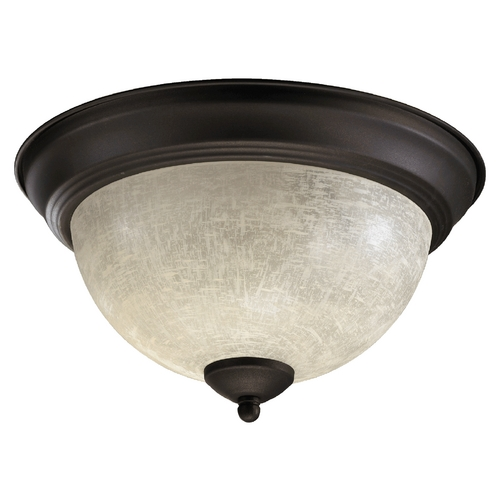Quorum Lighting Quorum Lighting Oiled Bronze Flushmount Light 3067-11-86