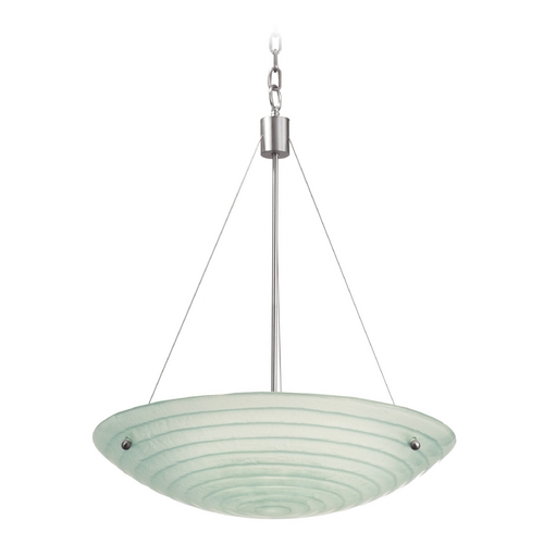 Kalco Lighting Kalco Lighting Aqueous Satin Nickel Pendant Light 5987SN