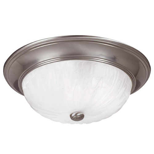 Savoy House Savoy House Satin Nickel Flushmount Light 15264-SN