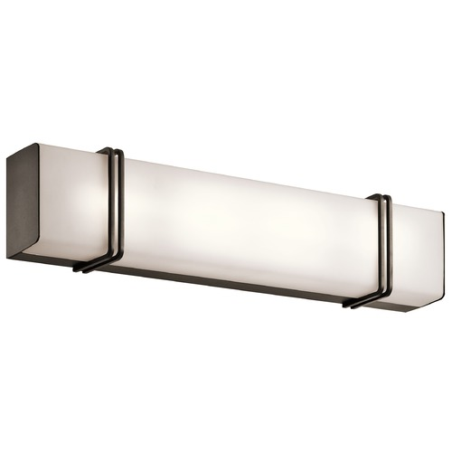 Kichler Lighting Kichler Lighting Impello Olde Bronze LED Bathroom Light 45838OZLED