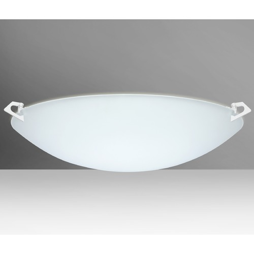 Besa Lighting Besa Lighting Sonya Frosted Glass White LED Flushmount Light 841925-LED-WH