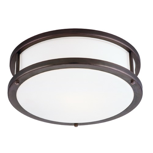 Access Lighting Access Lighting Conga Bronze LED Flushmount Light 50080LEDDLP-BRZ/OPL