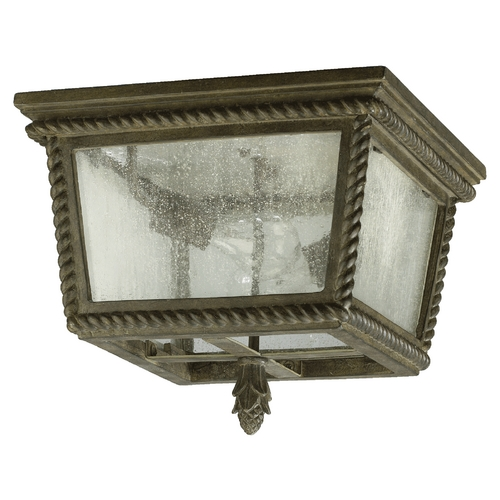 Quorum Lighting Quorum Lighting Rochelle Etruscan Sienna Close To Ceiling Light 3910-13-43