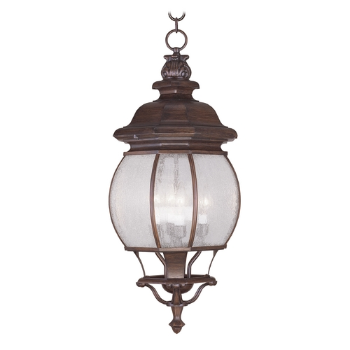 Livex Lighting Livex Lighting Frontenac Imperial Bronze Outdoor Hanging Light 7910-58