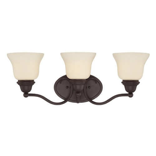 Savoy House Savoy House English Bronze Bathroom Light 8-6837-3-13