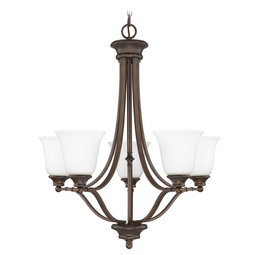 Capital Lighting Capital Lighting Belmont Burnished Bronze Chandelier 3415BB-242