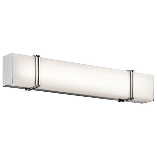 Kichler Lighting Kichler Lighting Impello Chrome LED Bathroom Light 45839CHLED