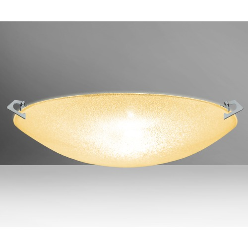 Besa Lighting Besa Lighting Sonya Polished Nickel LED Flushmount Light 8419GD-LED-PN