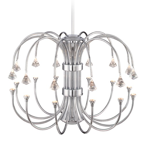 Designers Fountain Lighting Designers Fountain Galaxy Chrome LED Chandelier LED859812-CH
