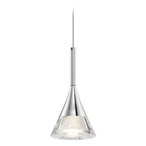 Elan Lighting Elan Lighting Kabru Chrome LED Mini-Pendant Light 83721