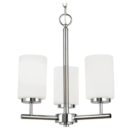 Sea Gull Lighting Sea Gull Lighting Oslo Chrome LED Mini-Chandelier 31160EN3-05