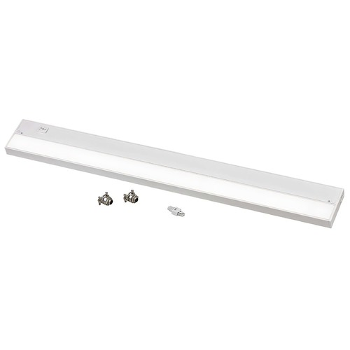 Recesso Lighting by Dolan Designs 30-Inch White LED Under Cabinet Light - 3000K LED UCLN30-3000-WH