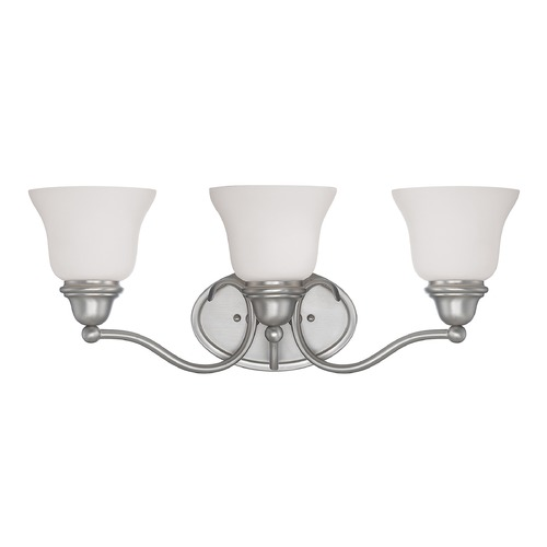 Savoy House Savoy House Pewter Bathroom Light 8-6837-3-69