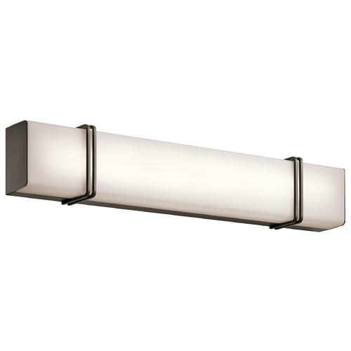 Kichler Lighting Kichler Lighting Impello Olde Bronze LED Bathroom Light 45839OZLED