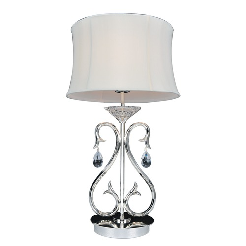 Allegri Lighting Cesti 1 Light Table Lamp w/ Silver 023790-014-FR001