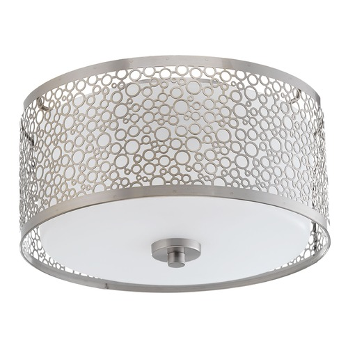 Progress Lighting Progress Lighting Mingle LED Brushed Nickel LED Flushmount Light P2318-0930K9