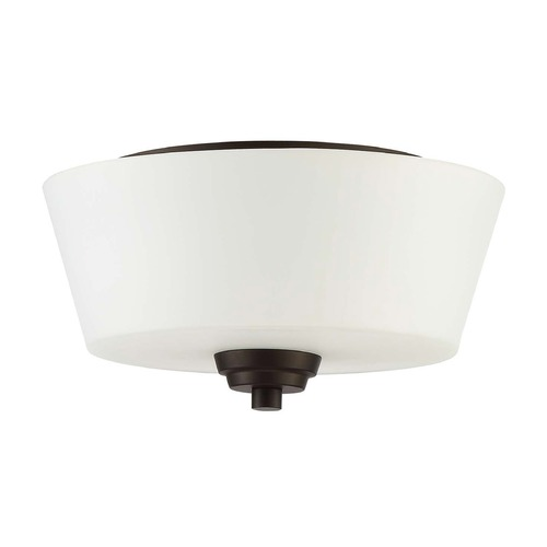 Craftmade Lighting Craftmade Lighting Grace Espresso Flushmount Light 41982-ESP