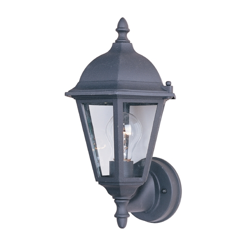 Maxim Lighting Maxim Lighting Westlake Black Outdoor Wall Light 1002BK