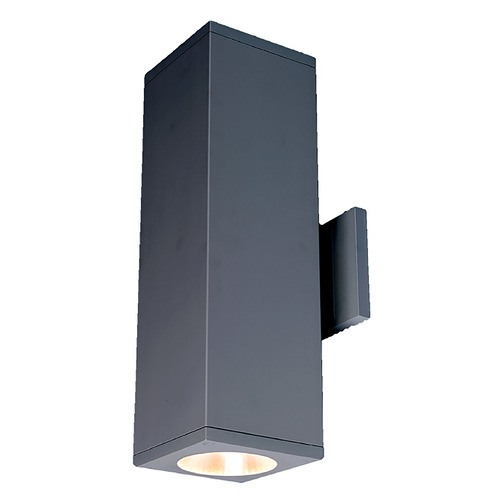 WAC Lighting Wac Lighting Cube Arch Graphite LED Outdoor Wall Light DC-WD06-F840C-GH