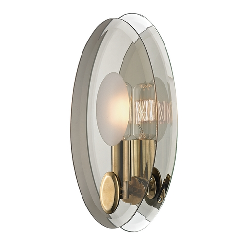Hudson Valley Lighting Hudson Valley Lighting Galway Aged Brass Sconce 5711-AGB