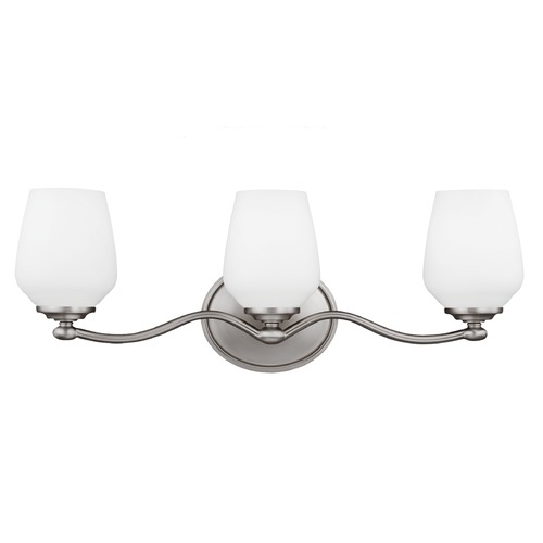 Feiss Lighting Feiss Lighting Vintner Satin Nickel Bathroom Light VS20103SN