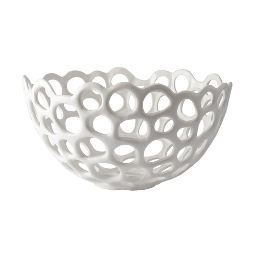 Dimond Lighting Perforated Porcelain Dish - Large 724022