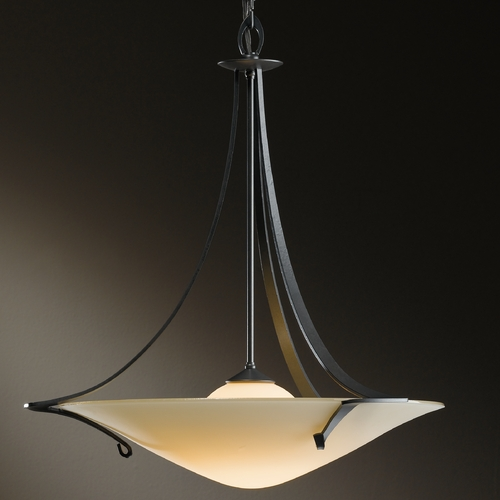 Hubbardton Forge Lighting Hubbardton Forge Lighting Antasia Burnished Steel Pendant Light 14471008-S279