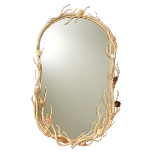 Kalco Lighting Atlantis Oval 21.5-Inch Mirror 6070CR