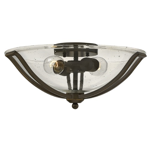 Hinkley Lighting Hinkley Lighting Bolla Olde Bronze Flushmount Light 4660OB-CL