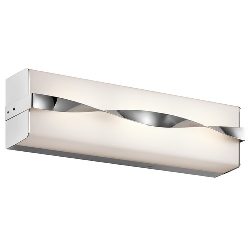Kichler Lighting Kichler Lighting Tori Chrome LED Bathroom Light 45845CHLED