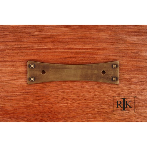 RK International Bent Rectangle Backplate BP7902AE