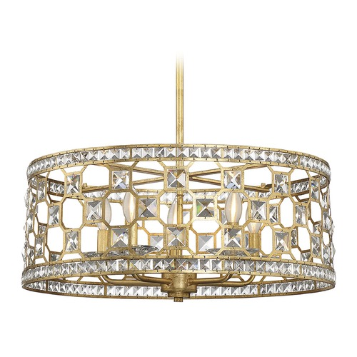 Savoy House Savoy House Lighting Clarion Gold Bullion Pendant Light 7-840-5-33