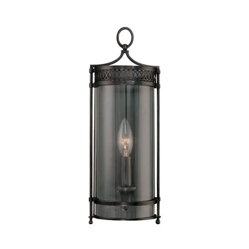 Hudson Valley Lighting Sconce Wall Light with Clear Glass in Distressed Bronze Finish 8991-DB