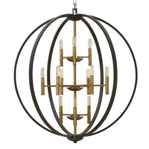 Hinkley Lighting Hinkley Euclid Spanish Bronze Pendant Light 3469SB