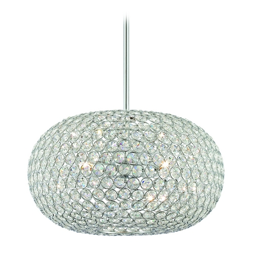 Lite Source Lighting Lite Source Lighting Orsino Chrome Pendant Light LS-19777
