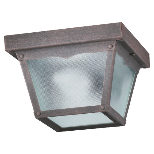 Quorum Lighting Quorum Lighting Rust Close To Ceiling Light 3080-7-5